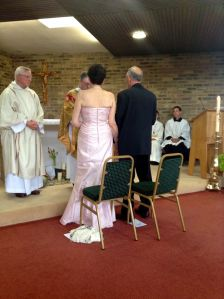 Mum and Tony on their wedding day April 21st 2014.